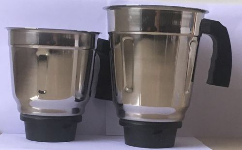 Stainless Steel Wet Jar Mixer Set