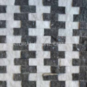 Black & White Natural Exterior Stone Wall Cladding Tiles, Thickness: 10-15 Mm