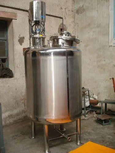 500 Liters Mixing Active Pharmaceutical Ingredient Vessel