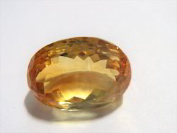 Natural Citrine Loose Faceted Cut Gemstones Ring Stones