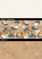 6025 (L, H) Hexa Ceramic Tiles Matt Series