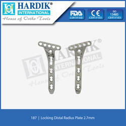 Locking Distal Radius Plate 2.7mm