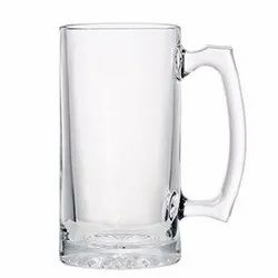 Beer Mug Clear Glass