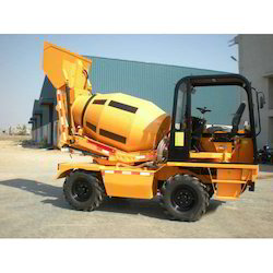 Mobile Concrete Mixer Machine