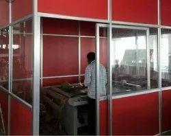 Aluminium Glass Partition