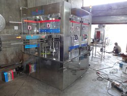 Water Bottling Filling Machine, Capacity: 24-120 BPM