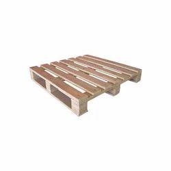 Rectangular Four Way Wooden Pallets