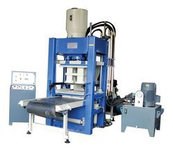High Pressure Both Side Fly Ash Brick Making Machine