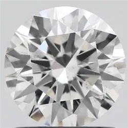 1.01ct Lab Grown Diamond CVD F SI1 Round Brilliant Cut Type2A