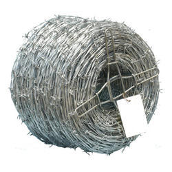 12 To 14 Gauge Cross Razor GI Barbed Wire, Weight: 50 To 55 kg