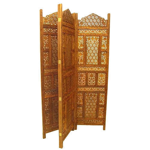 Carved Wooden Screen Furniture Racks Shelves Miglani