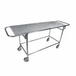 Stainless Steel Stretcher Cum Trolley