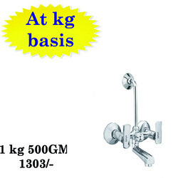 Sanya Brass 2 in 1 Wall Mixer, Size: 15 mm
