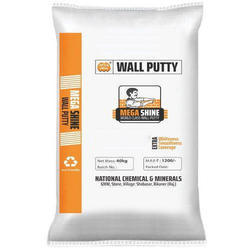 Mega Shine Industrial Wall Putty, Packaging: 40 kg