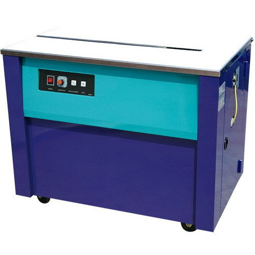 AP Box Strapping Machine, Voltage : 220 V, Strapping width : 6 - 15mm, Dtrapping Speed : 1.6 sec/strap