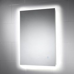 Rectangular Backlit Mirror