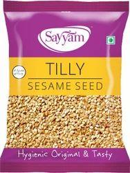 Sayyam Hulled Sesame Seeds, For Food, Pack Size: 500gm,1Kg