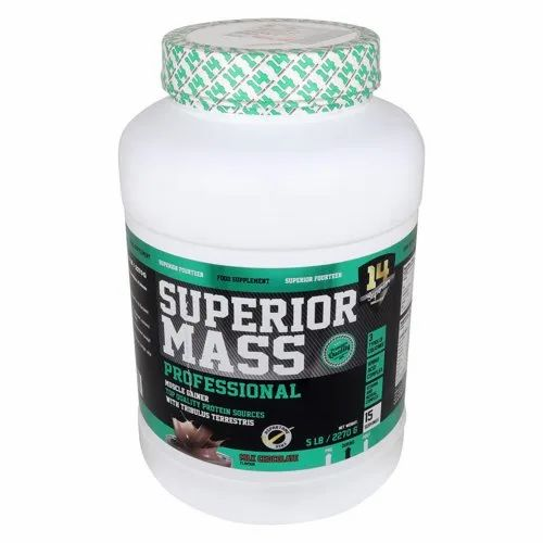 Superior Mass Gainer, Packaging Type: Plastic Container