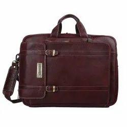 Hammonds Flycatcher Genuine Leather 3 In 1 Office Bag