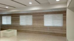 Slat Faux Wooden Blinds - Window Covering