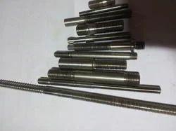 Steel EN Stud, Grade: EN8, Size: 6mm To 30mm