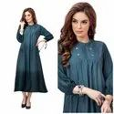Shaded Rayon Slub Kurti