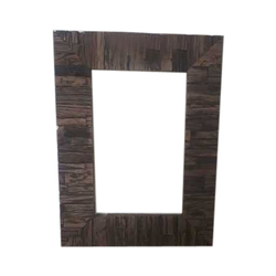 Wood Wooden Rectangular Frame