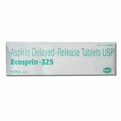 Aspirin/Acetylsalicylic Acid (325mg) Ecosprin Tablet