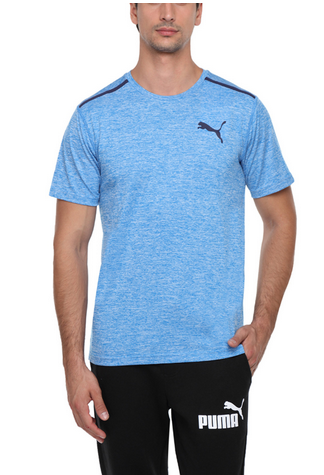 71a0bbf159 Men Blue Puma Bonded Tech Mens T Shirt, Rs 1249 /piece, Puma India ...