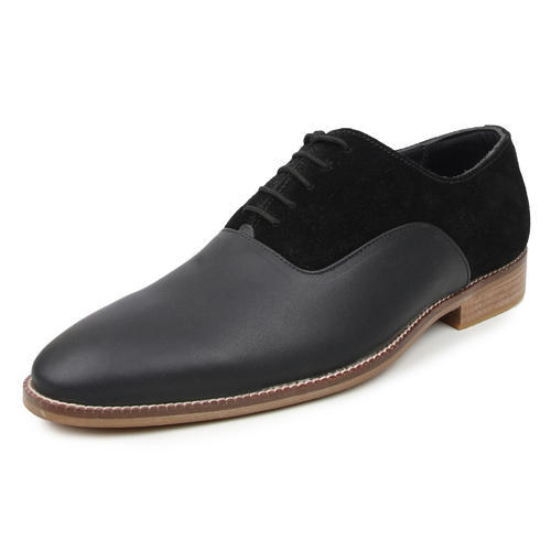 Buwch Men Formal Designer Black Shoe, Size: 6-12