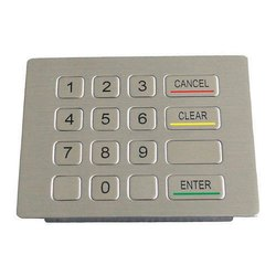 ATM Machine Stainless Steel Key Board (Kiosk)