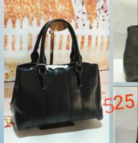 d7571b19eac41 Black Zippery Ladies Modern Handbag, Rs 525 /piece, Feelings Bags ...
