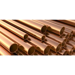 Round Polished Copper Pipes