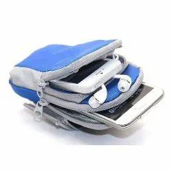 Brown Leaf Green Pocket Accessory (Arm Band Bag)