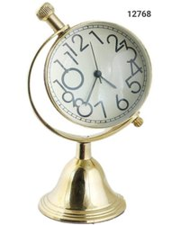 Table Clock, Globe