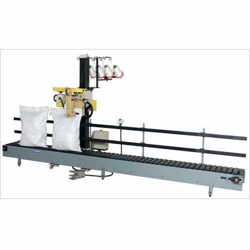 Bag Closing Machine With Conveyor