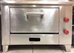4 Inch Modern Heavy Stainless Steel Gas Pizza Oven