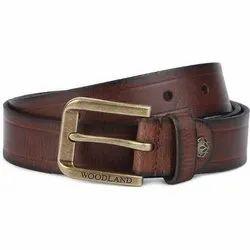 Woodland BT 1053008 Brown Men's Leather Belt