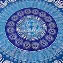 Mandala Printed Beach Throw