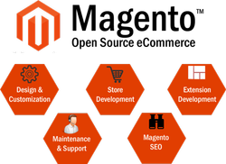 E-Commerce Enabled Magento Website Development