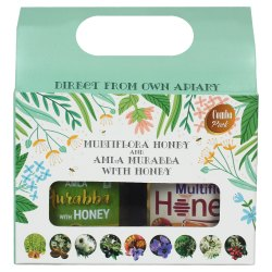 Combo Gift Pack of Multiflora Honey & Amla Murabba 500g each