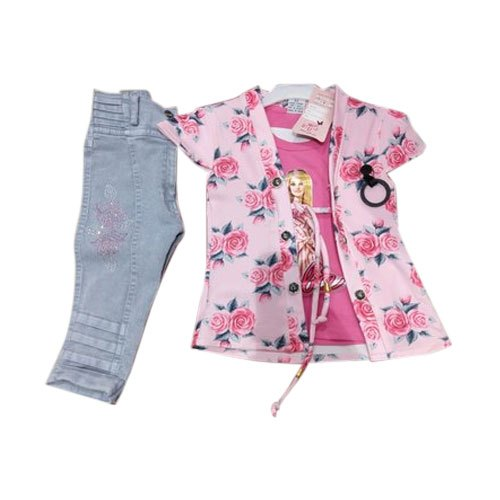 4fdf20255 Kids Party Wear Designer Jeans Top, Rs 150 /set, Sidhbali Garments ...