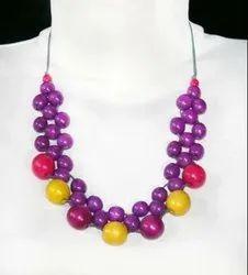 Multicolor Wooden Necklace