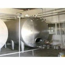 SS Milk Storage Tank