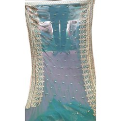 Party wear Ladies Rangoli Silk Saree, 5.5 M (separate Blouse Piece) ,packaging Type: Packet