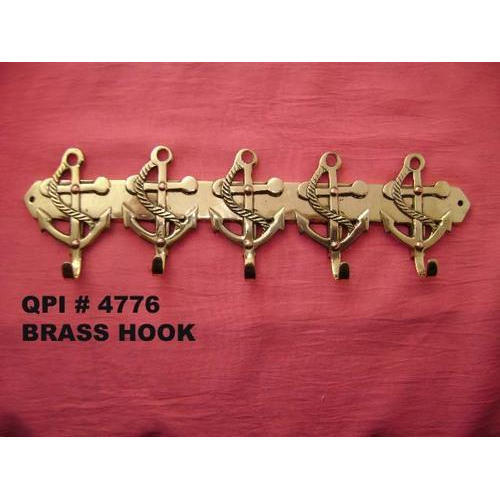 Brass Coat Hook