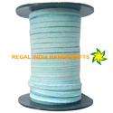 Light Blue Turquoise Faux Suede Leather Cord