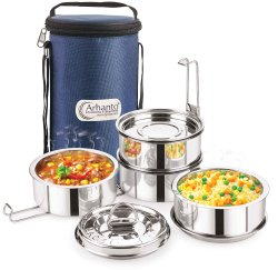Arhanto Mealtime Stainless Steel Tiffin