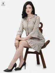 Alpha Queen Vol-11 Weaving Cotton Casual Look Kurti Catalog Collection