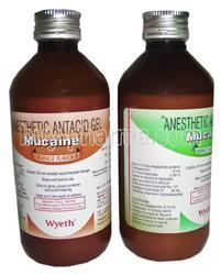 Anesthetic Antacid Gel